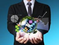 Ecrã táctil Imagens de Stock