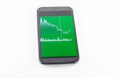 Ecrã táctil móvel Imagem de Stock Royalty Free