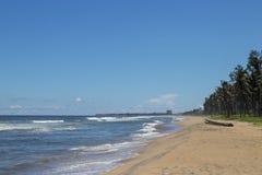ECR Chennai de la playa de las vacaciones de verano imagenes de archivo