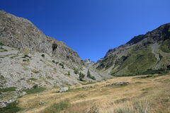 Ecrins mountain in Alps Royalty Free Stock Photos