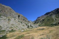 Ecrins mountain in Alps Royalty Free Stock Photos