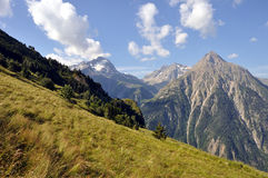 Ecrins national park Royalty Free Stock Photography