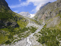 Ecrins National Park, Alps mountains, France Royalty Free Stock Image