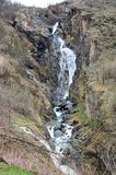 Waterfall in french Alps Stock Photos