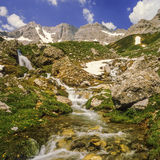 The ecrins valley the french alps Royalty Free Stock Images