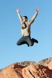 Ecstatic businessman Royalty Free Stock Image