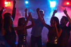 Ecstatic dancing Royalty Free Stock Images