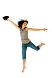 Ecstatic Girl Stock Photo