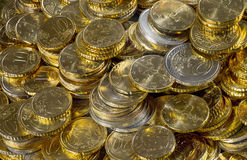 Ectasy złoto fotografia stock