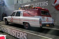 Ecto-1. At the World premiere of 'Ghostbusters' held at the TCL Chinese Theatre in Hollywood, USA on July 9, 2016 royalty free stock images