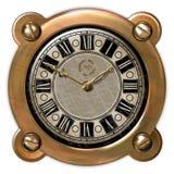 Ector antico dell'orologio Fotografia Stock