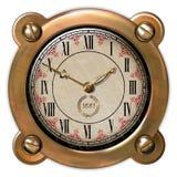 Ector antico dell'orologio Fotografie Stock Libere da Diritti