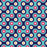 ector modern seamless colorful geometry pattern. color blue abstract geometric background Royalty Free Stock Images