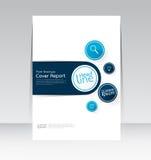 Ector projekt dla pokrywa raportu broszurki ulotki plakata w A4 rozmiarze Obraz Royalty Free