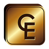 ECU currency symbol icon Stock Photos