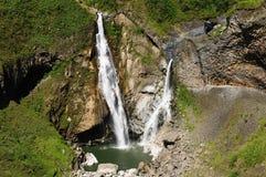 Ecuador, Banos Waterfall Royalty Free Stock Image