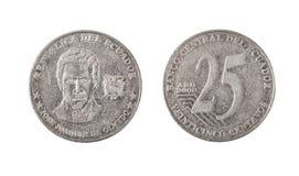 Ecuador 25 Centavos-Muntstuk