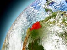 Ecuador de la órbita de Earth modelo Fotografía de archivo libre de regalías
