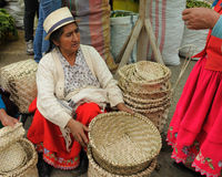 Ecuador, Ethnic latin woman Royalty Free Stock Image