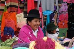 Ecuador, Ethnic latin woman Stock Images
