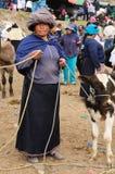 Ecuador, Ethnic latin woman Stock Photos