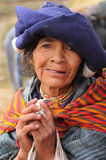 Ecuador, Ethnic latin woman Royalty Free Stock Photos