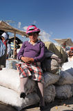Ecuador, Ethnic latin woman Royalty Free Stock Photo