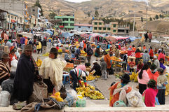 Ecuador, Ethnic market Stock Images
