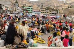 Ecuador etnisk marknad Arkivbilder