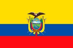 ecuador flagę Obraz Stock
