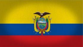 Ecuador flag Stock Photos