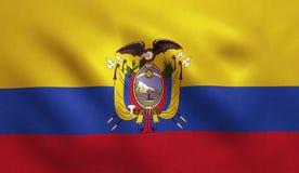 Ecuador Flag Royalty Free Stock Photography