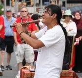 ecuador fleta mężczyzna bawić się Fotografia Royalty Free
