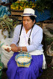 Ecuador, Food market Stock Photo
