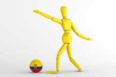Ecuador football Royalty Free Stock Image