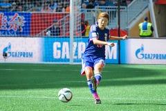 Ecuador gegen Japan Weltcup FIFAS Women's Stockfotos
