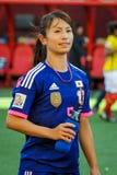 Ecuador gegen Japan Weltcup FIFAS Women's Lizenzfreie Stockbilder