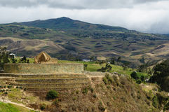 Ecuador, Ingapirca Inca site Stock Photo
