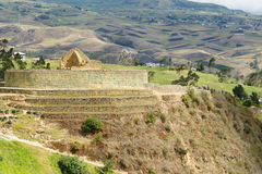 Ecuador, Ingapirca Inca site Royalty Free Stock Images