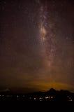 Ecuador Milkyway. Milkyway about the Cotopaxi Volcano in Ecuador Royalty Free Stock Image