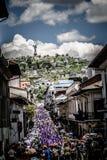 Ecuador Ostern stockfoto