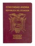 Ecuador pass Fotografering för Bildbyråer