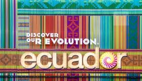 Ecuador pavilion at Expo 2015 Stock Photo
