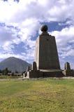 ecuador pomnik obraz stock