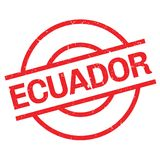 Ecuador rubber stamp Stock Photos