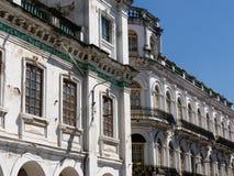 Ecuador sikt på den Cuenca staden Royaltyfria Bilder