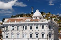 Ecuador sikt på Quitoen Royaltyfria Bilder