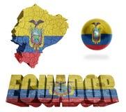 Ecuador Symbols Royalty Free Stock Images