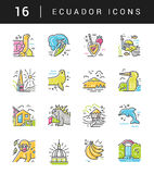 Ecuador symbols Vector Stock Photography
