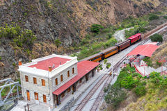 Ecuador Train Station Stock Photography